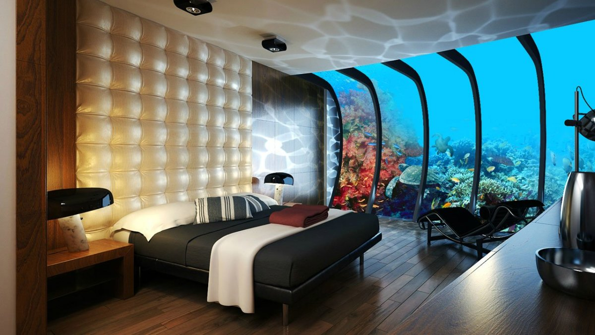 Five Incredible Underwater Hotels Around the World