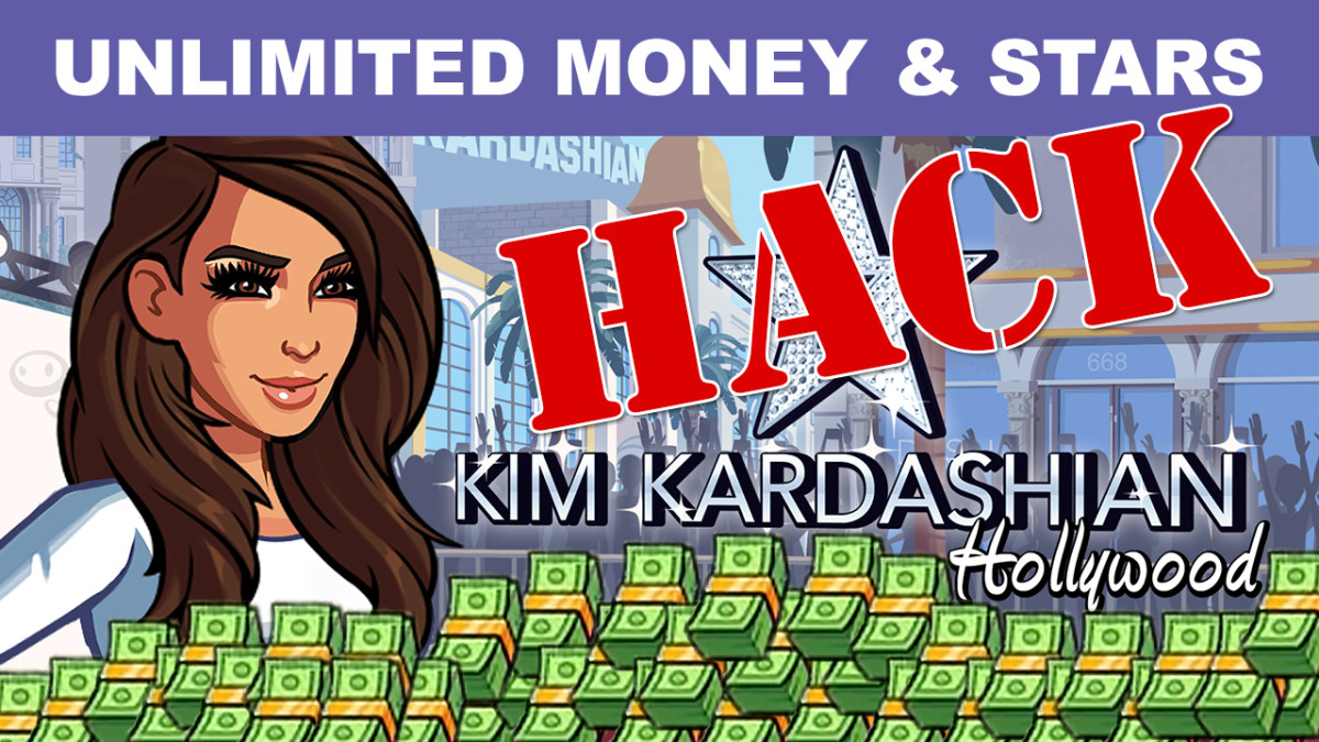 Kim Kardashian: Hollywood Game Unlimited Money & Stars Hack Instructions