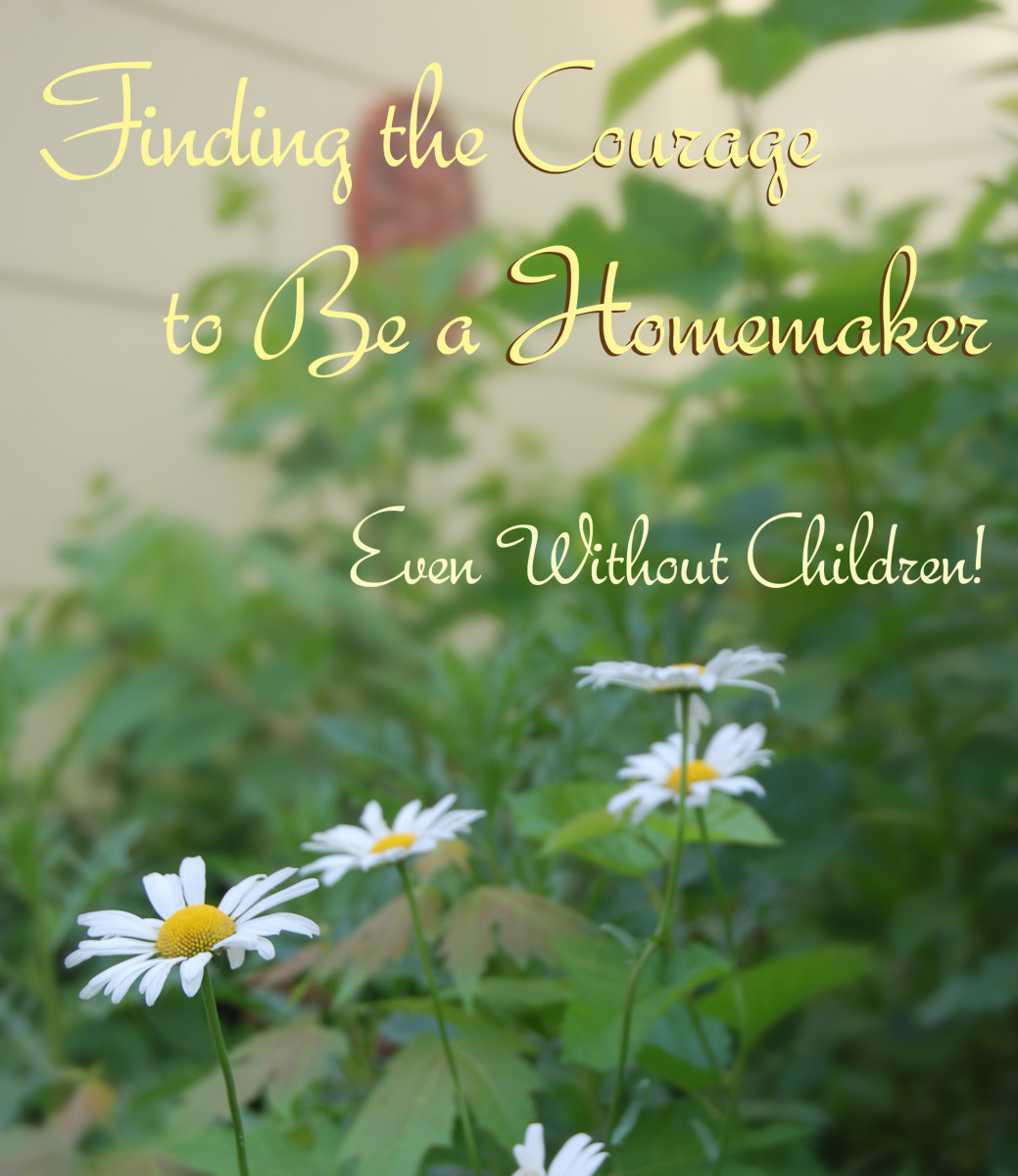 Finding the Courage to be a  Homemaker, Even Without Children