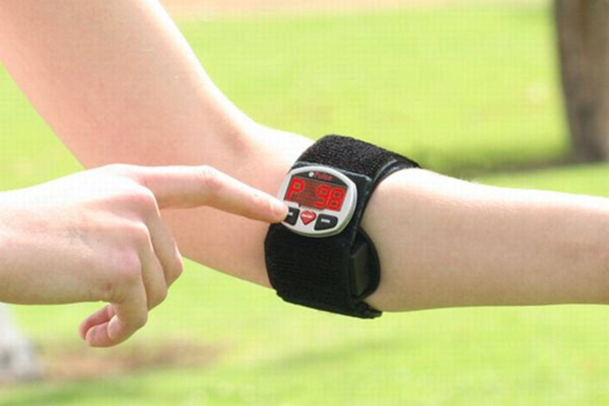 strapless type heart rate monitor