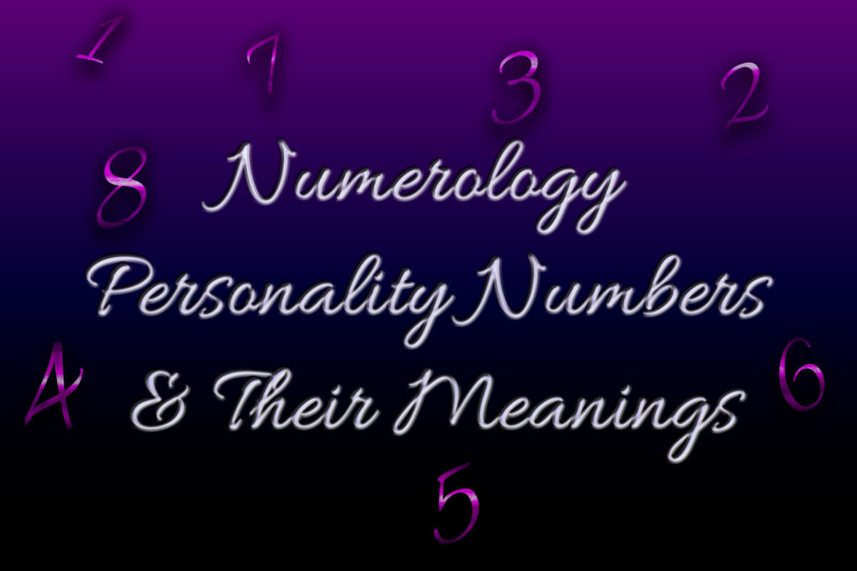 Personality Traits Based On Numerology Numerology Heart 2