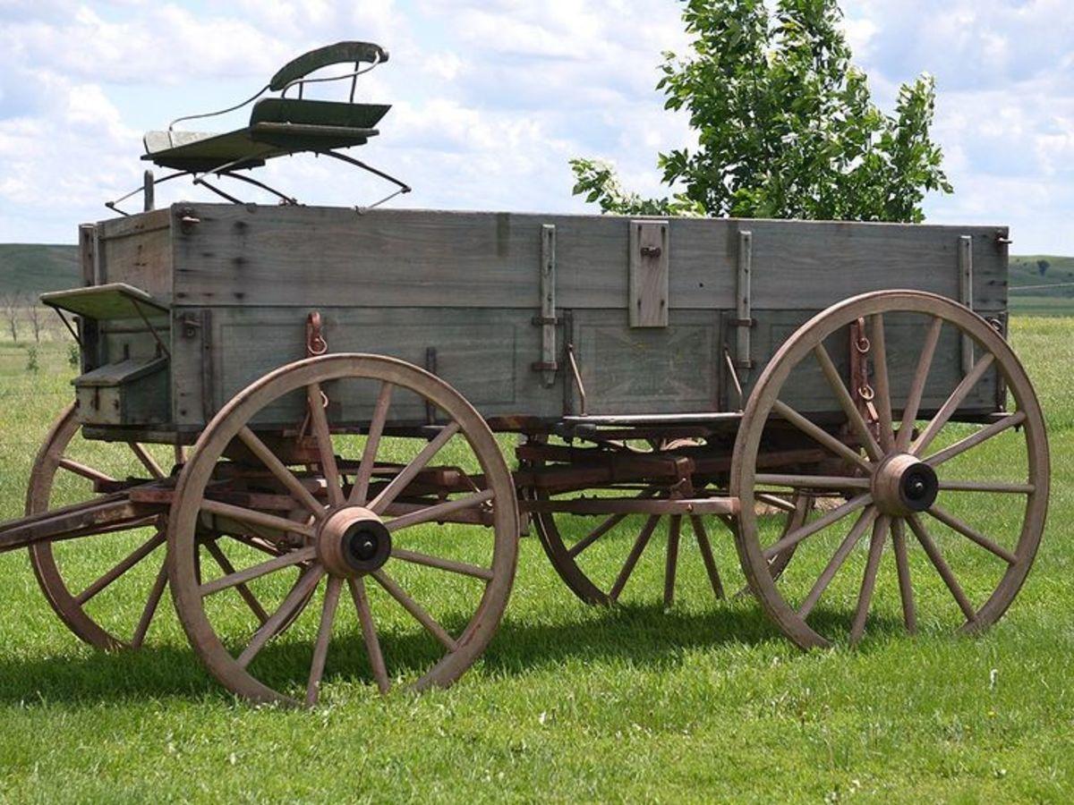 A farm wagon