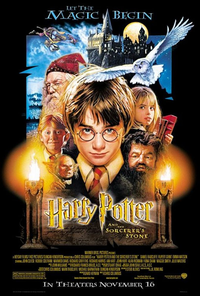 a review of a film harry potter