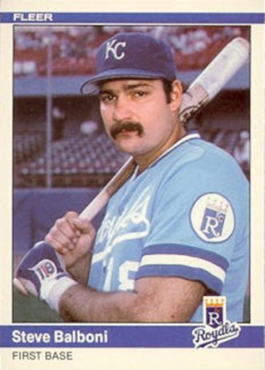 Despite the mustache, no one was going to mistake Steve Balboni for Don Mattingly. But he still holds KC's record for long balls in a season.