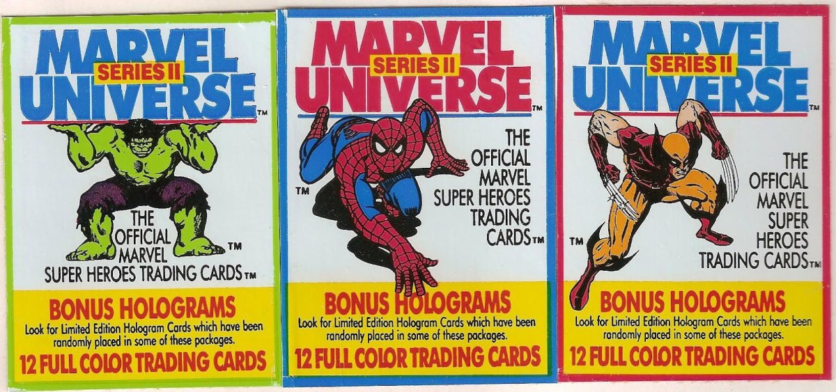 Comic Book Trading Cards: A Look Back