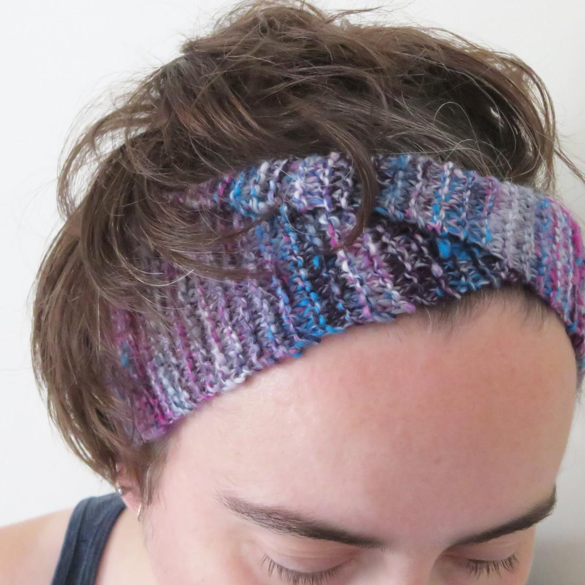 Free Alice Headband Knitting Pattern Feltmagnet