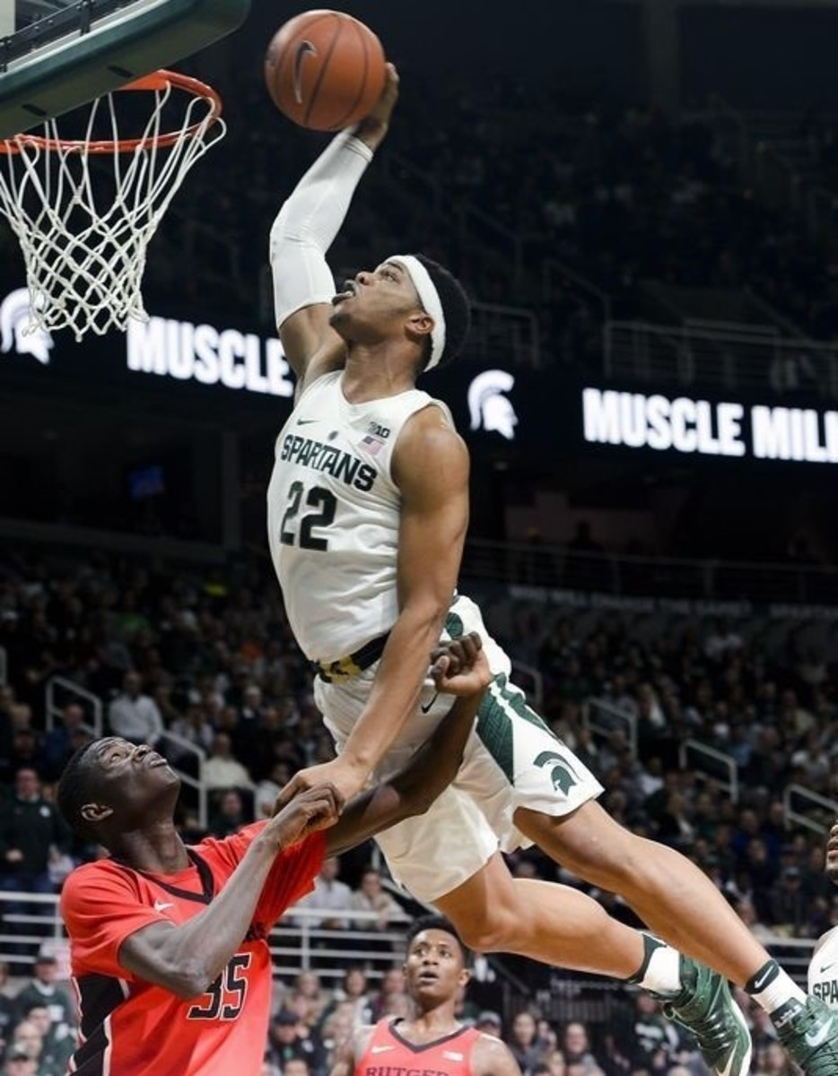 Christmas came in April for Tom Izzo and the Spartans.