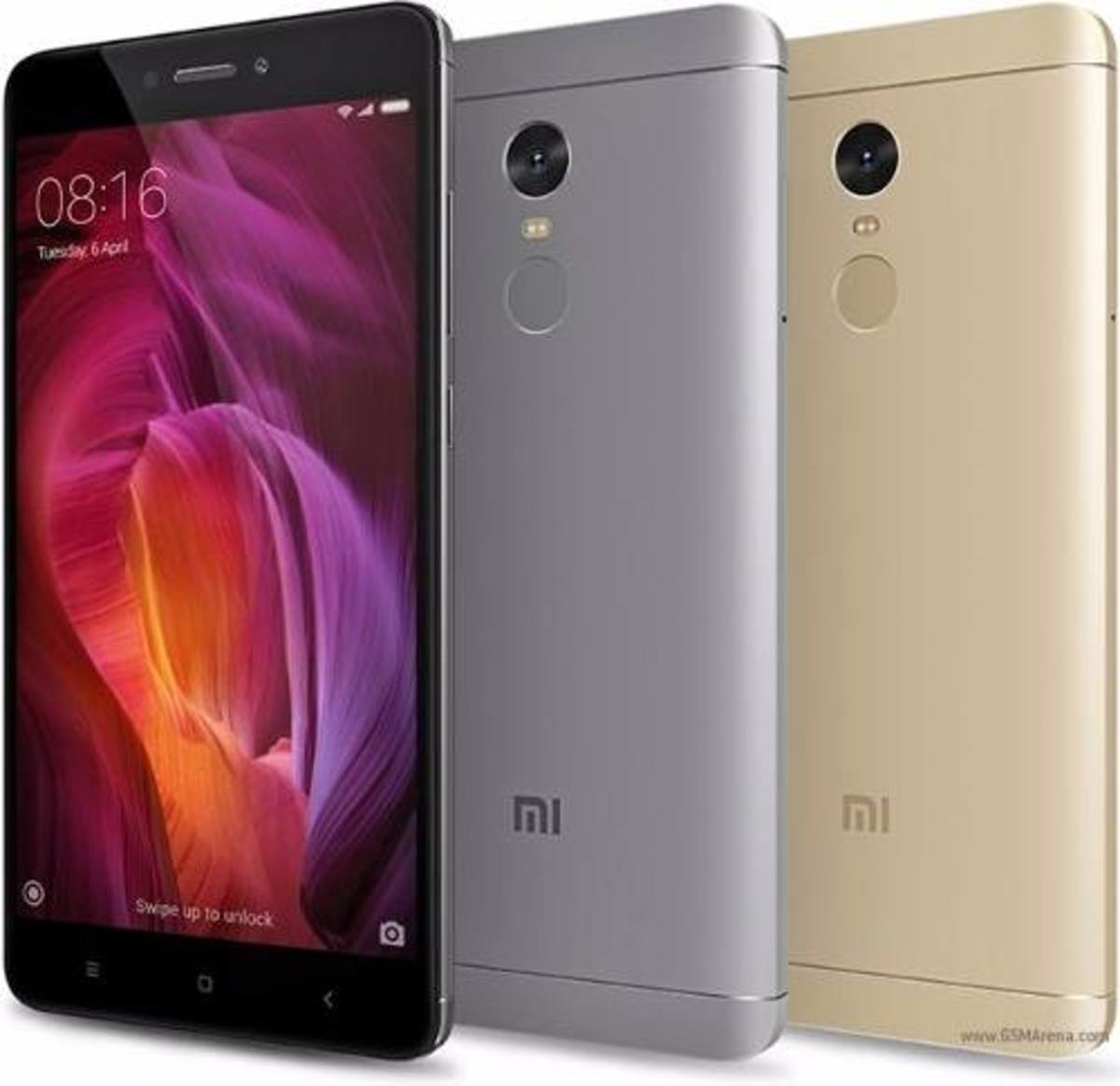 Xiaomi Redmi Note 4 comes in 3 different colors
