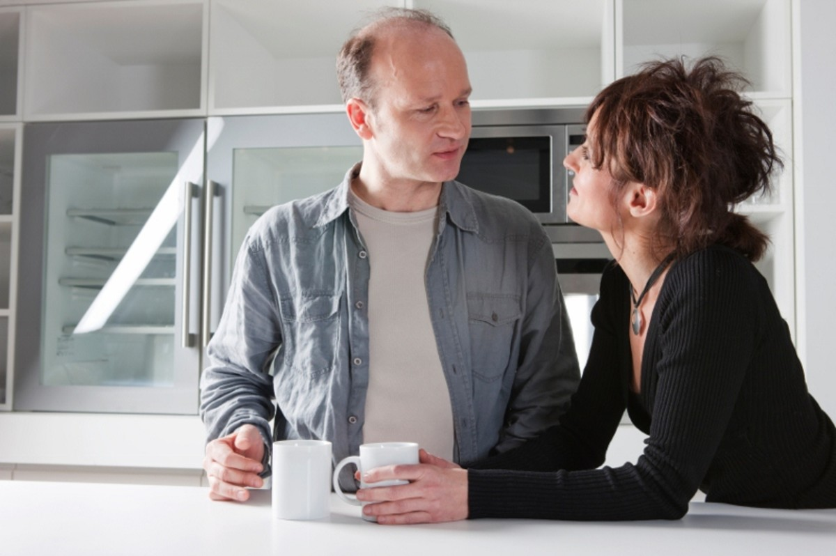Couples need to communicate as they weigh the pros and cons of saving their marriage. Most importantly, they question their ability to trust again.