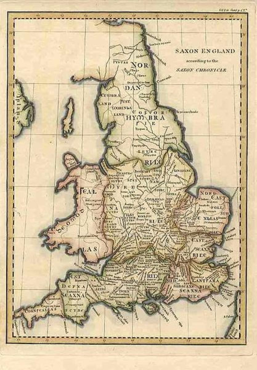Map Of England King Alfred.King Alfred The Great History In A Nutshell No 7 Owlcation