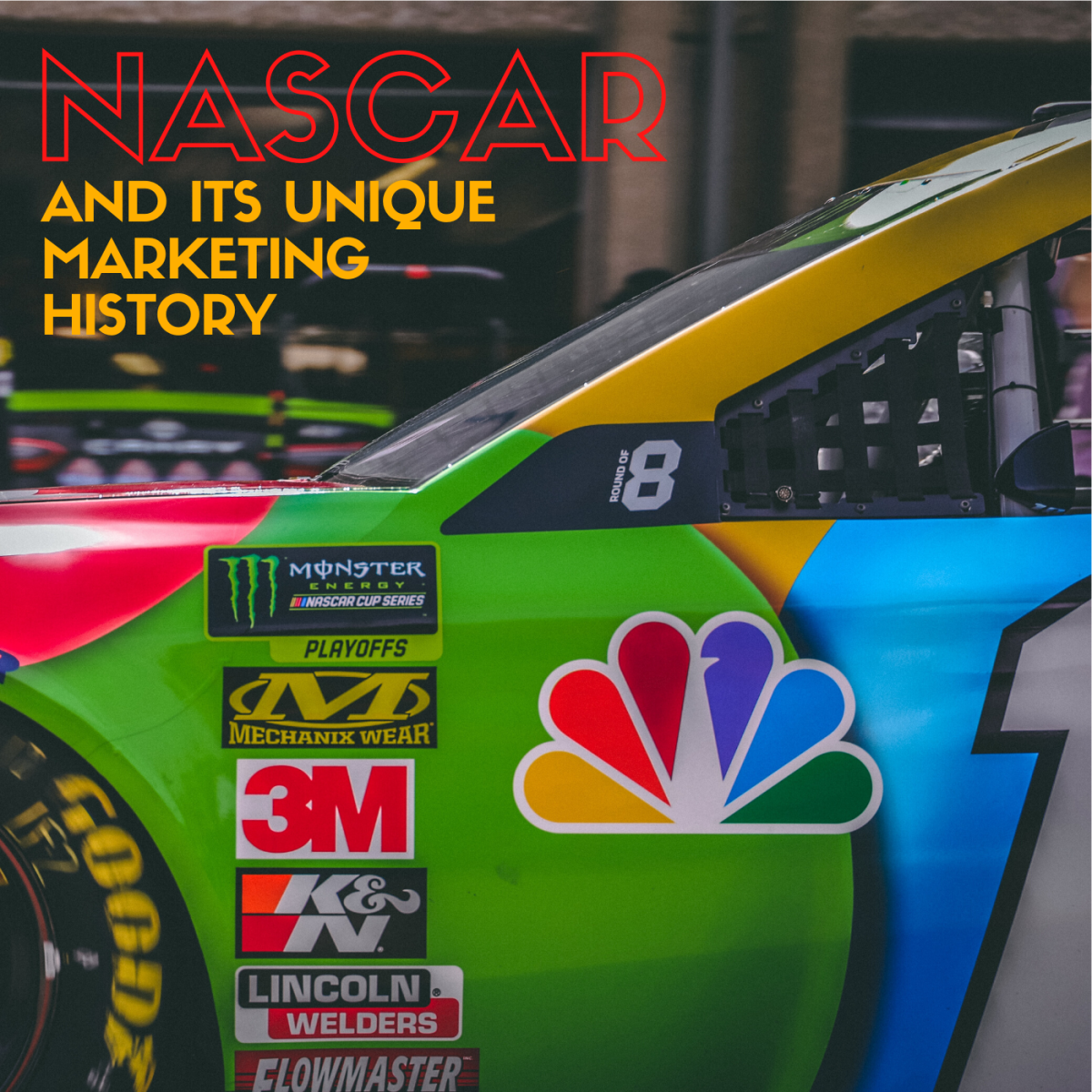 Learn about the history of NASCAR's marketing strategy.