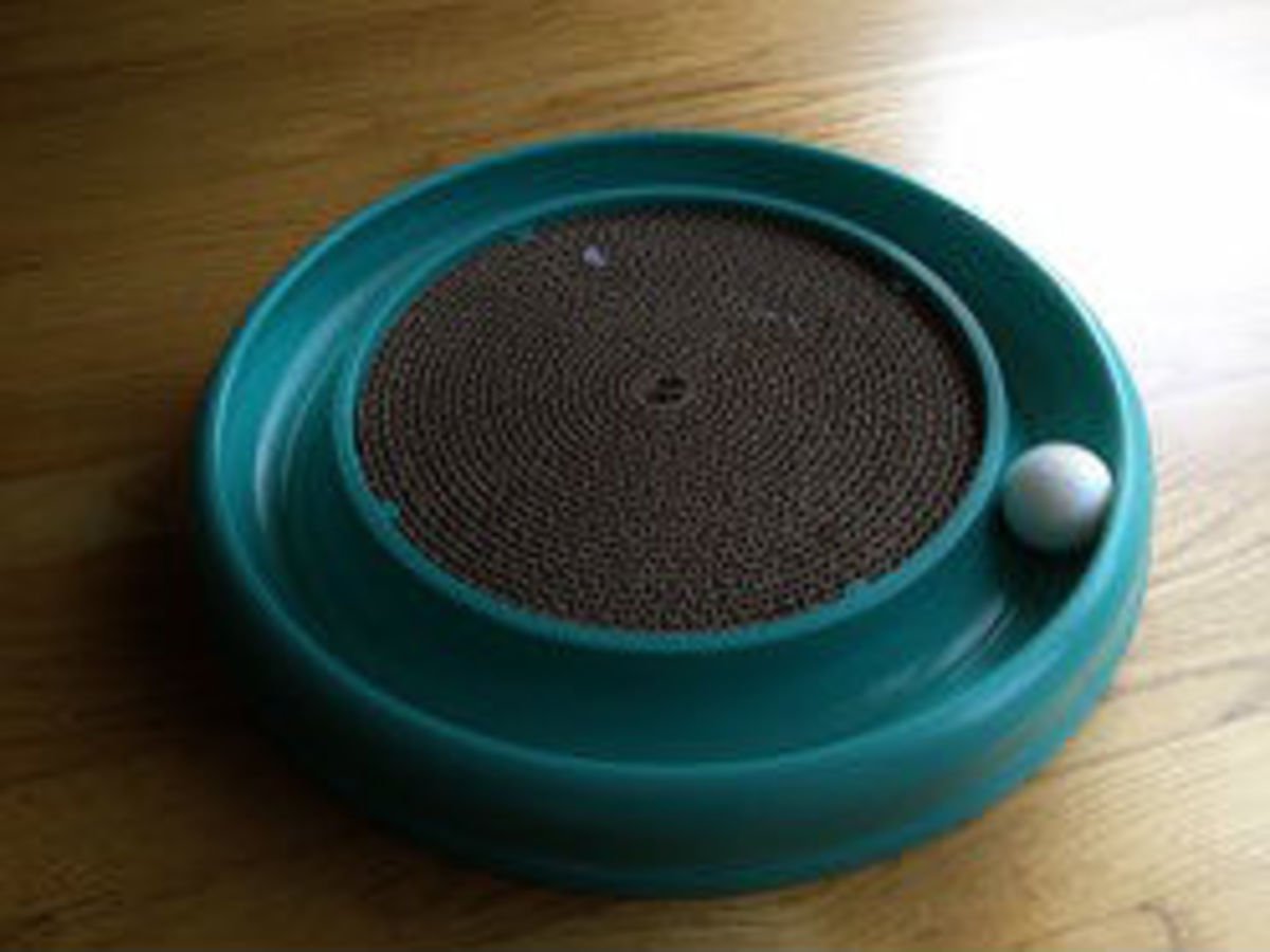 Turbo Scratcher. A Two-In-One Product!