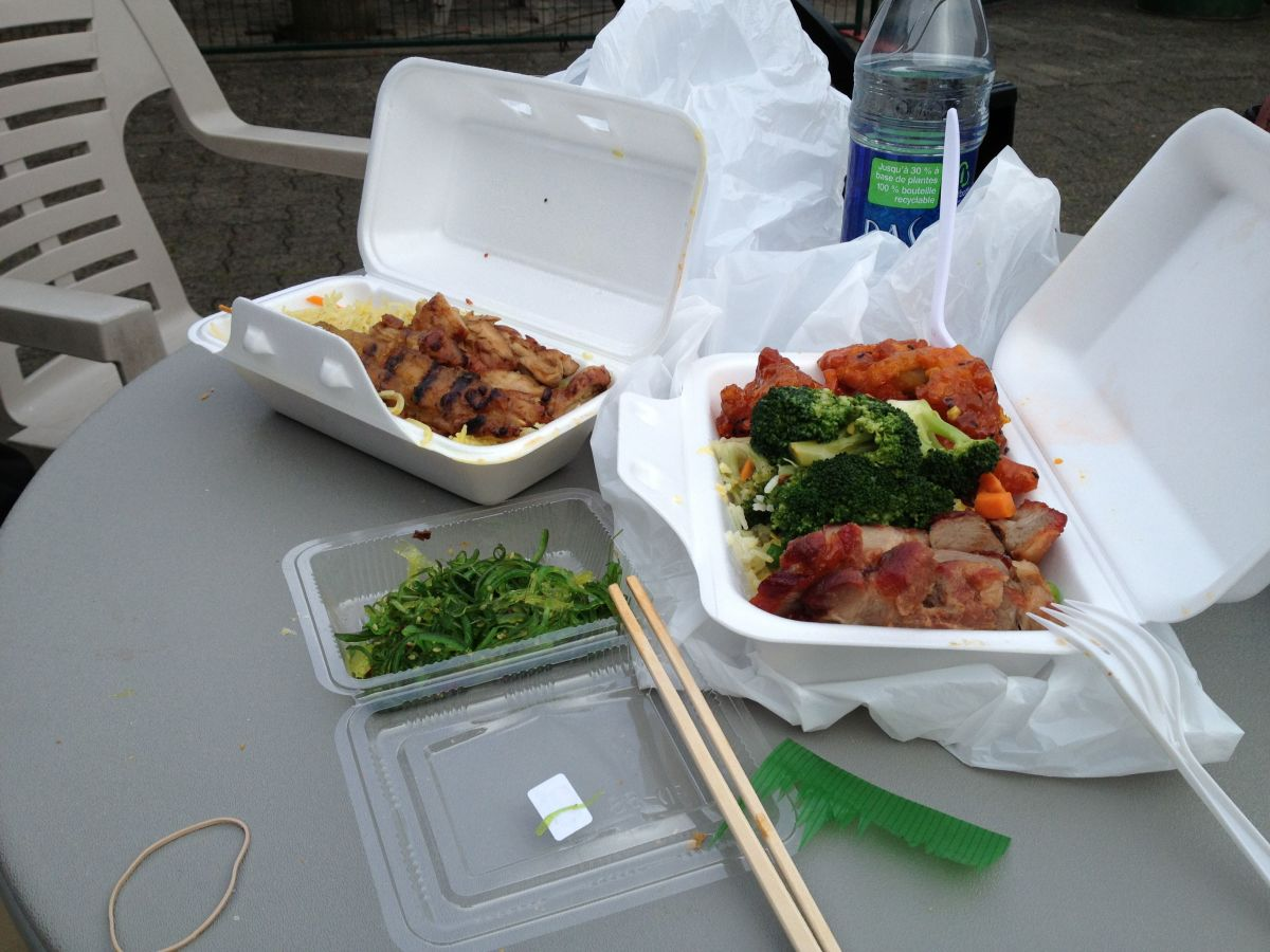 Food noms picked up at Granville Public Market.
