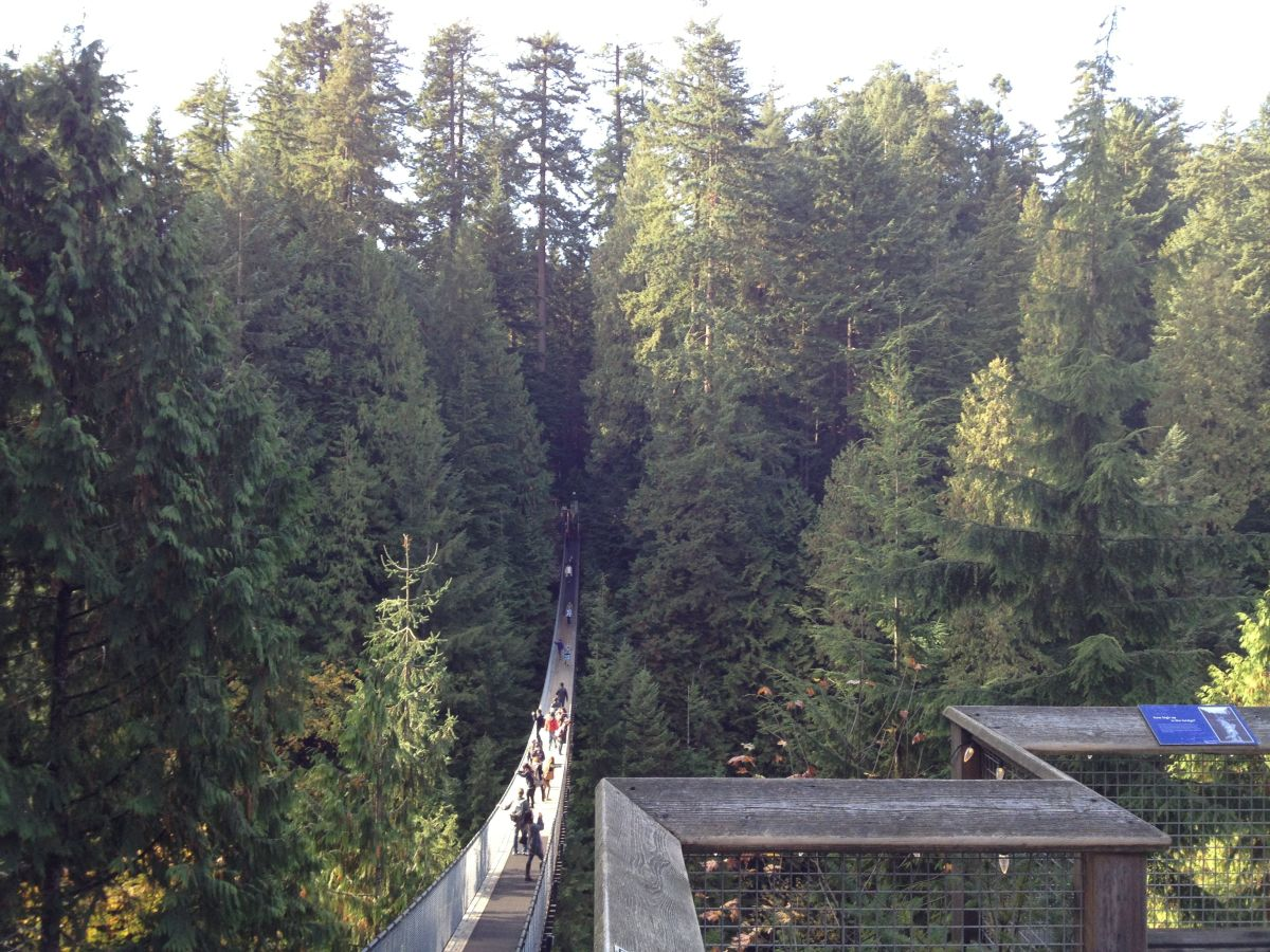 Capilano Suspension Bridge (entrance).