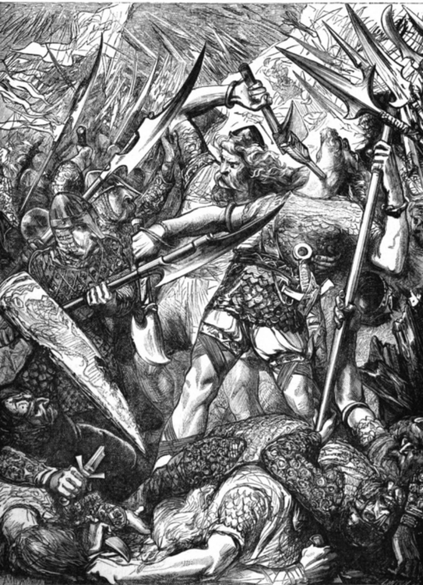 The Battle of Hastings. Attribution: John Cassell.