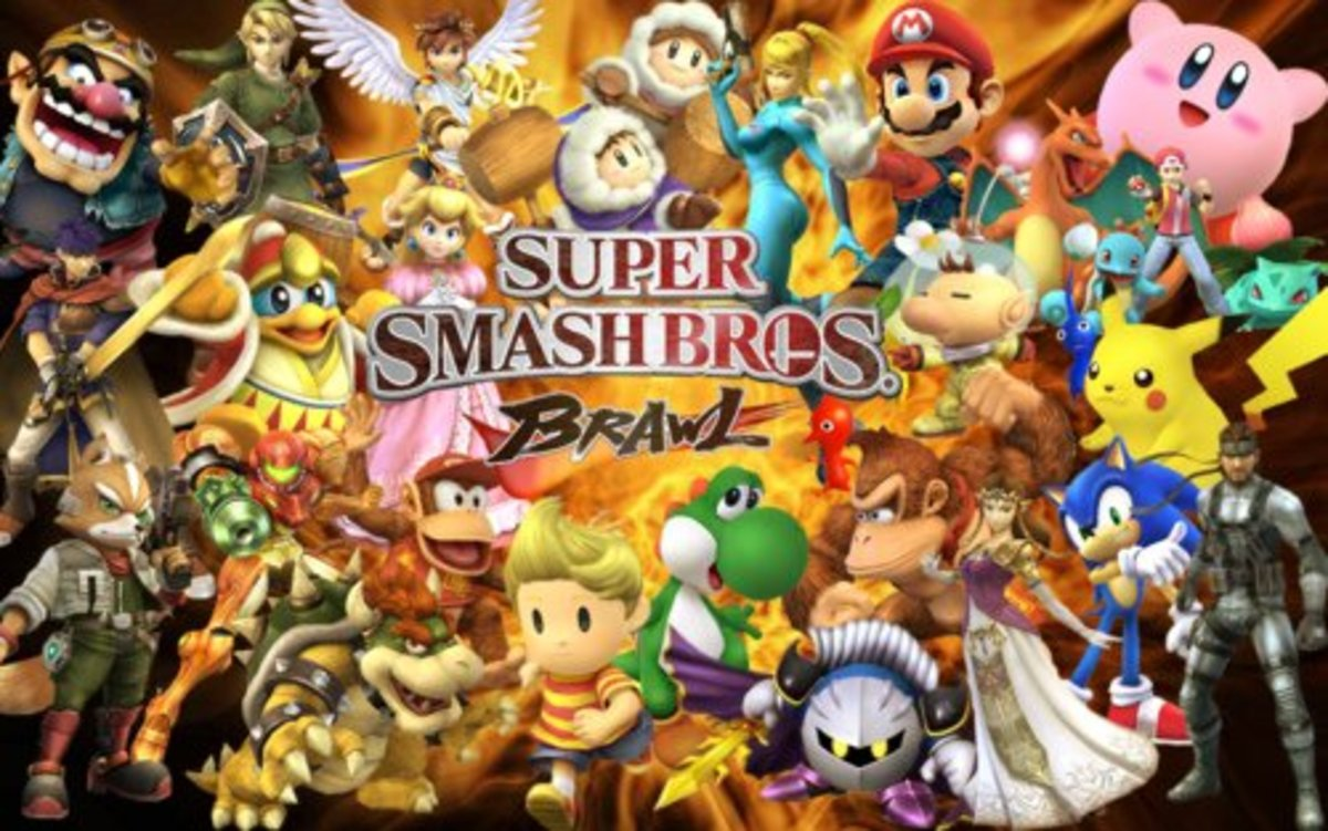 The Best and Worst Characters in Super Smash Bros. Brawl for Wii