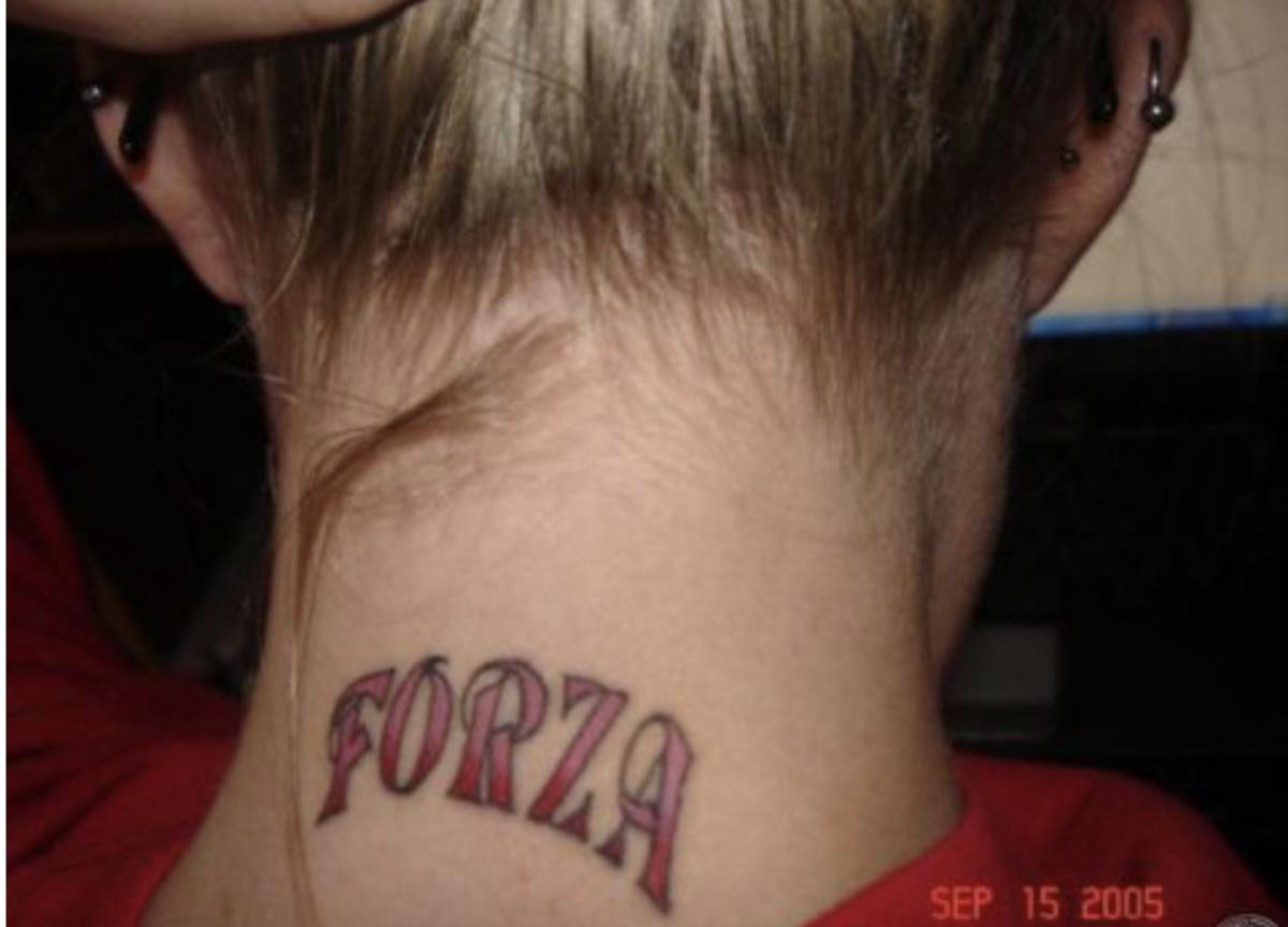 Strength/force in Italian.