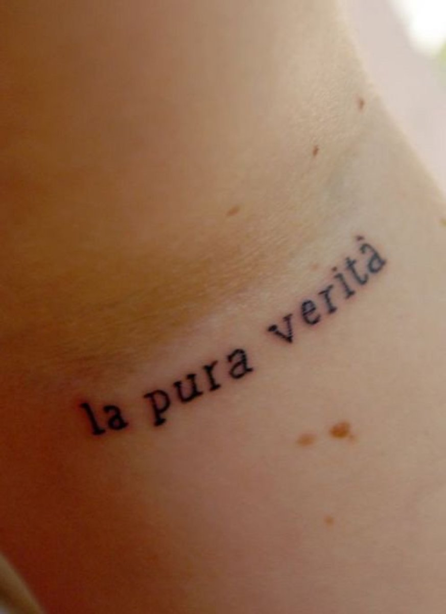 tattoo ideas italian words quotes tatring