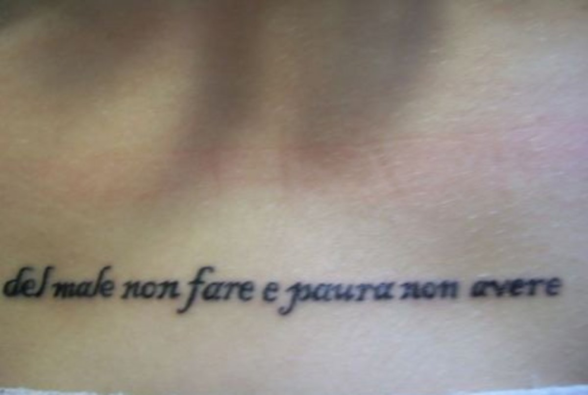 """do not harm and have no fear"""