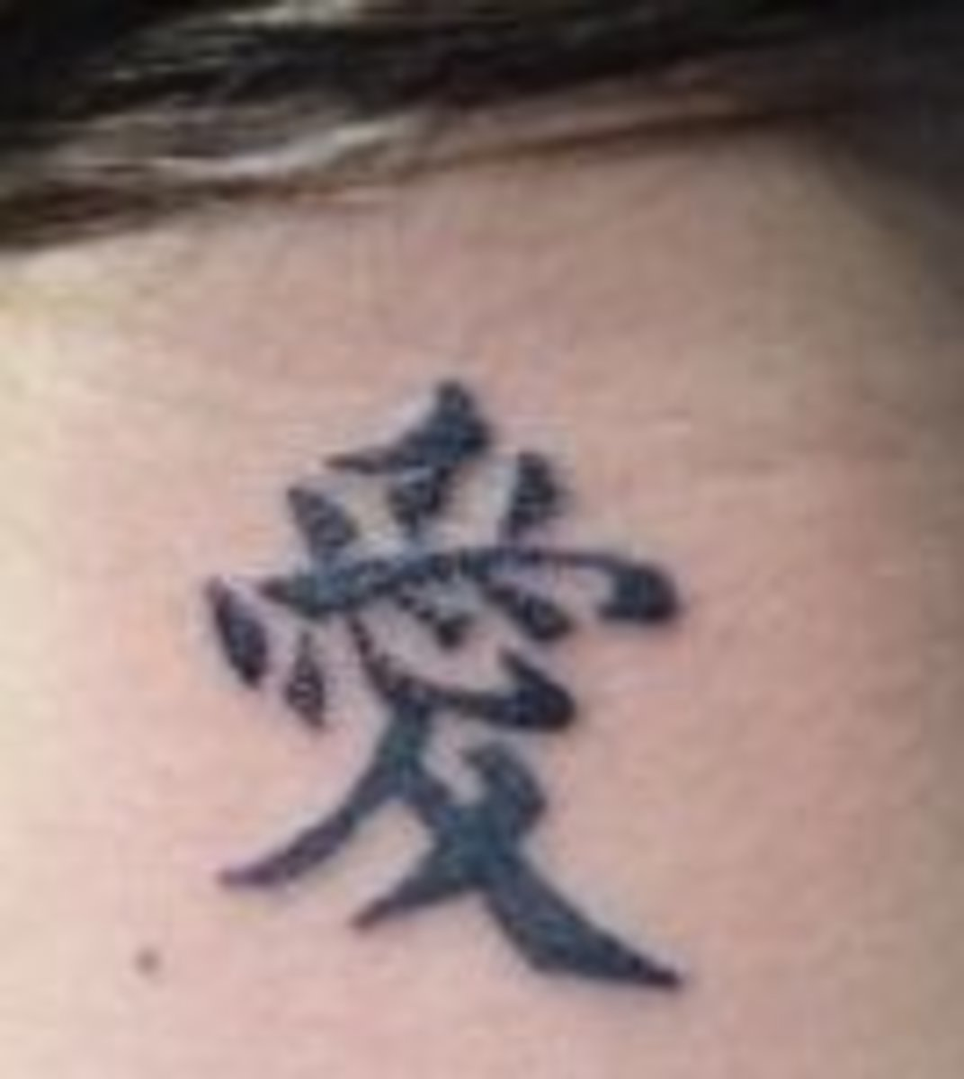 Tattoo Ideas: Chinese Kanji Characters