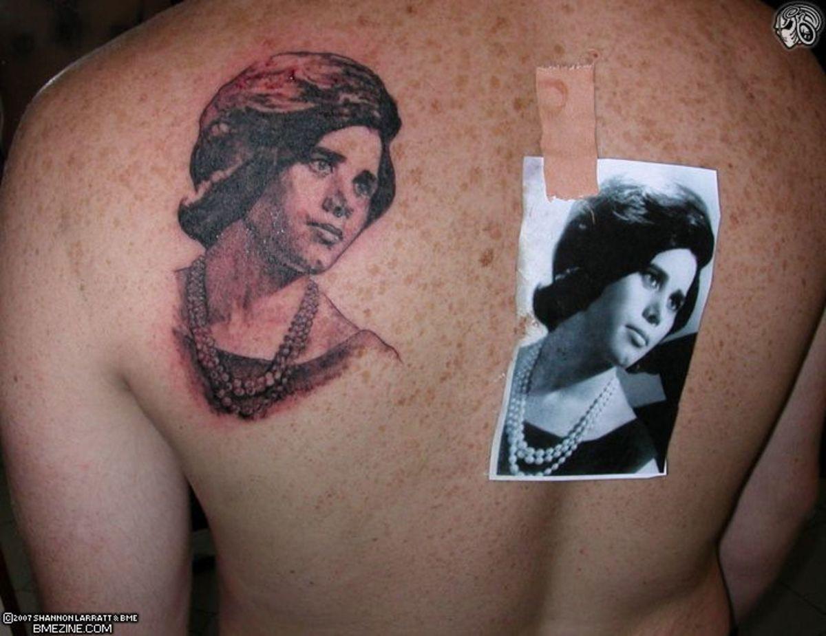 idei-dlya-tatuirovok - Идеи Татуировки: Портреты -  - фото
