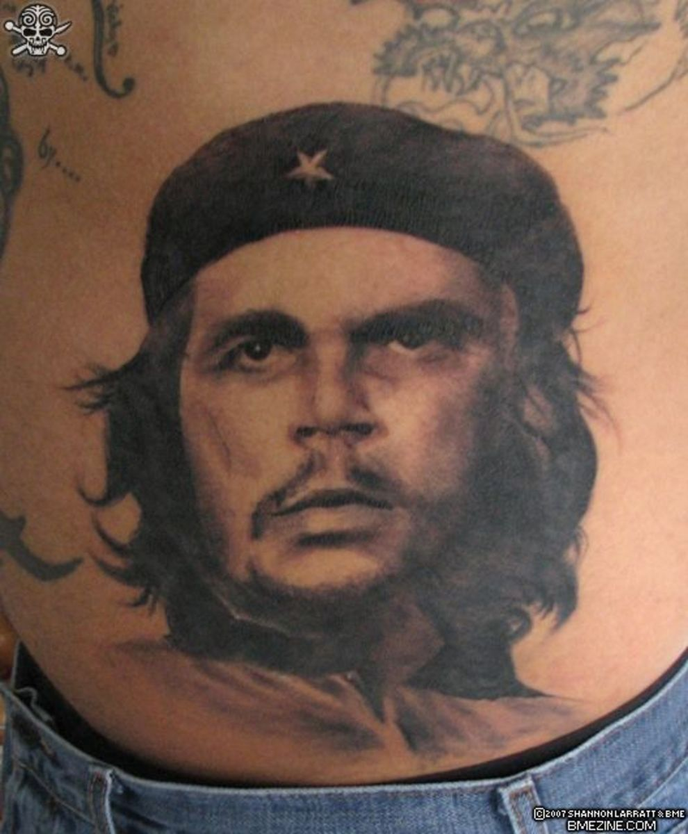 I agree that Che Guevara tattoos are very popular.