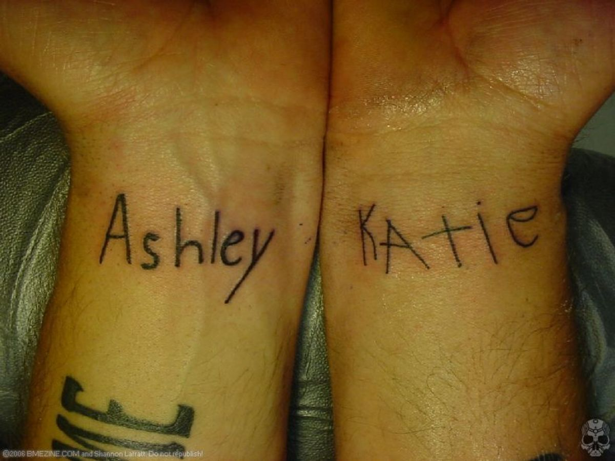 wrist tattoos cross mother daughter tattoo design