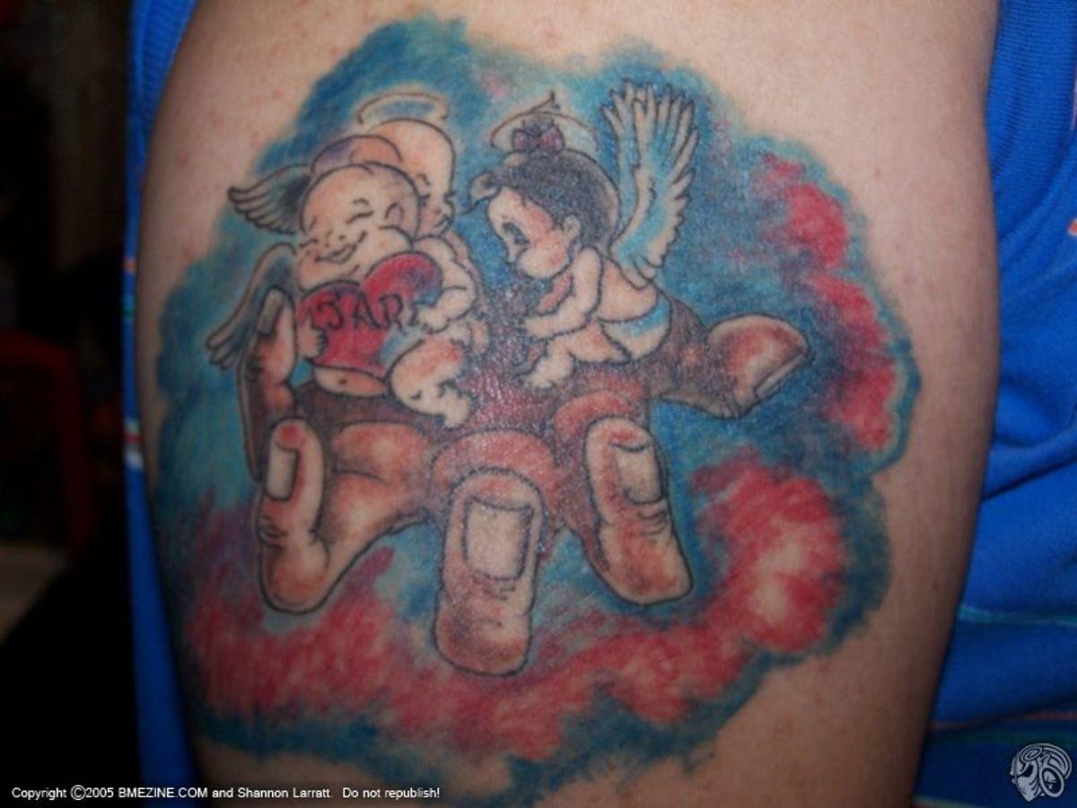 Tattoo Ideas Children Kids Parents Motherhood Designs For Names ...