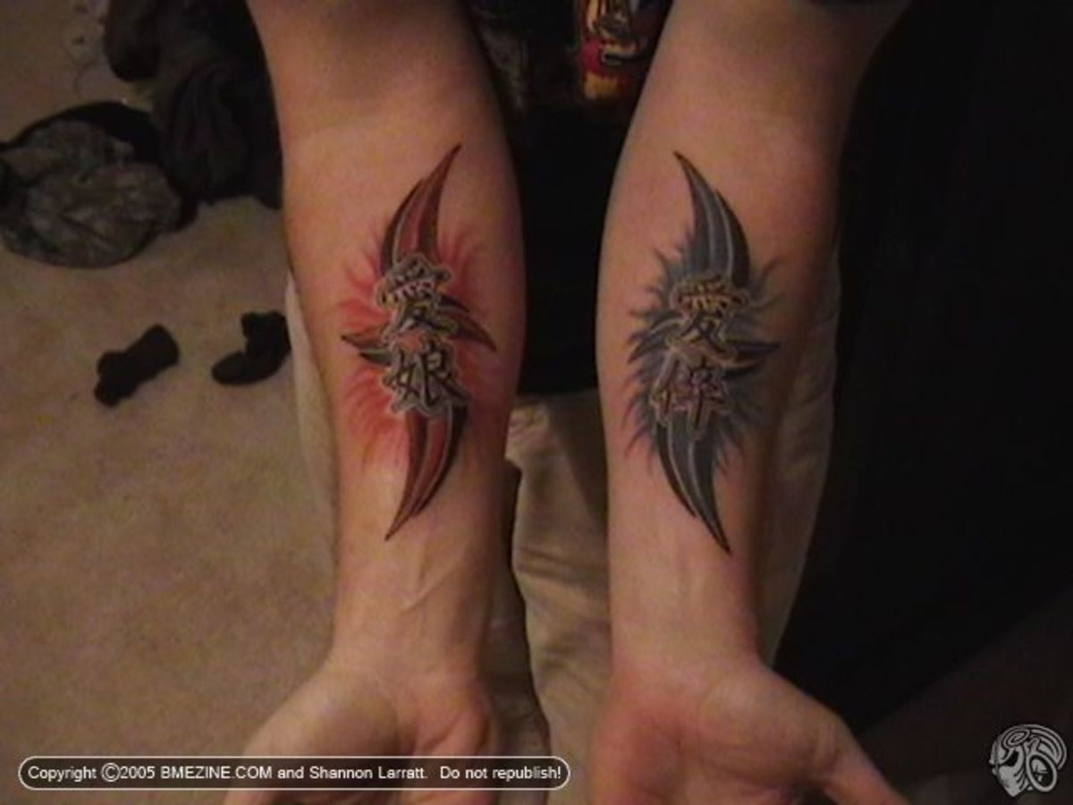 Mother Son Tattoos Designs