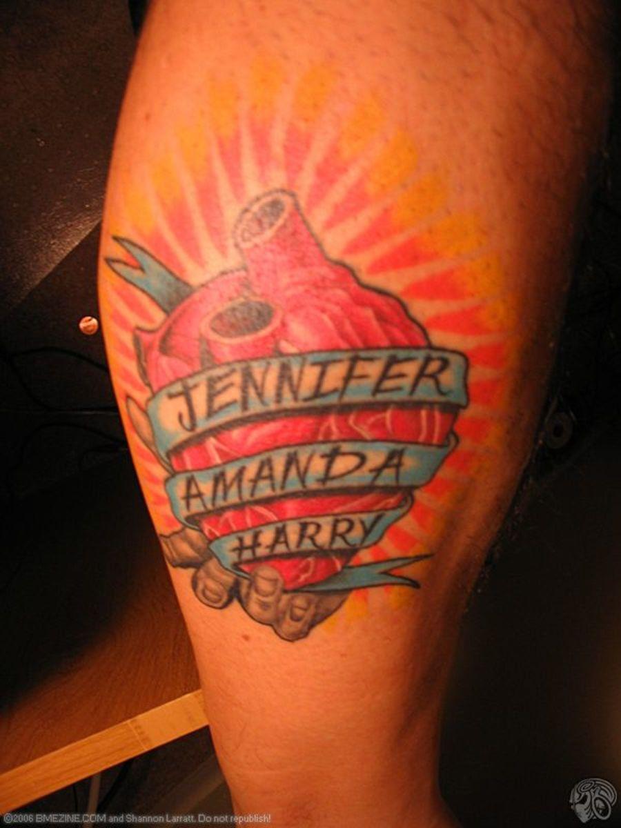 Tattoo ideas children kids parents motherhood tatring for Kids name tattoo ideas