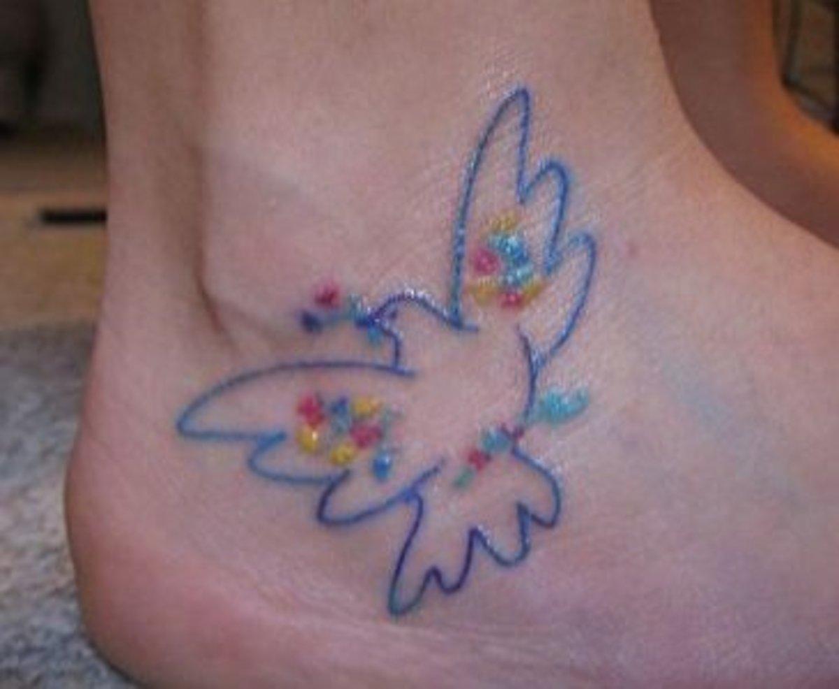 Pablo Picasso's peace dove