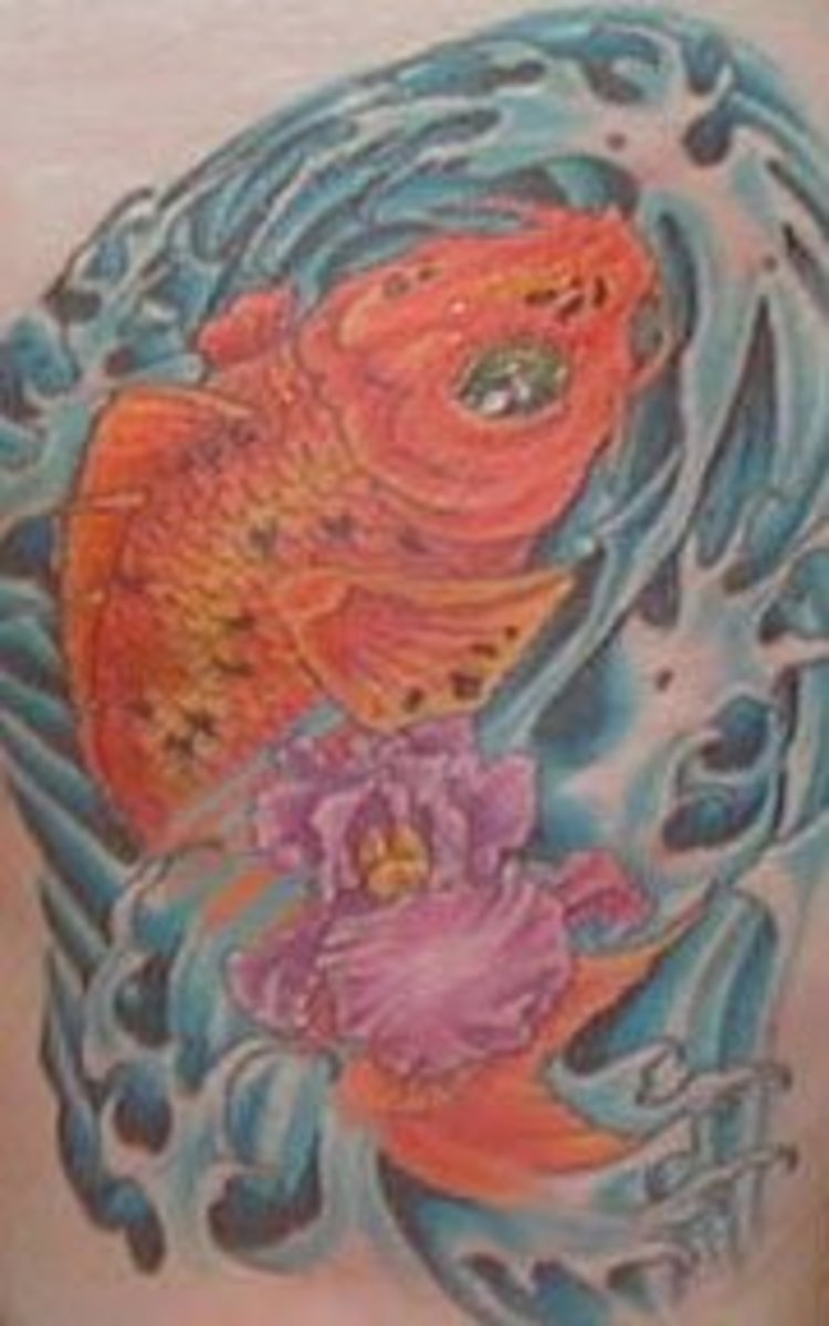idei-dlya-tatuirovok - Японские Татуировки Кои -  - фото