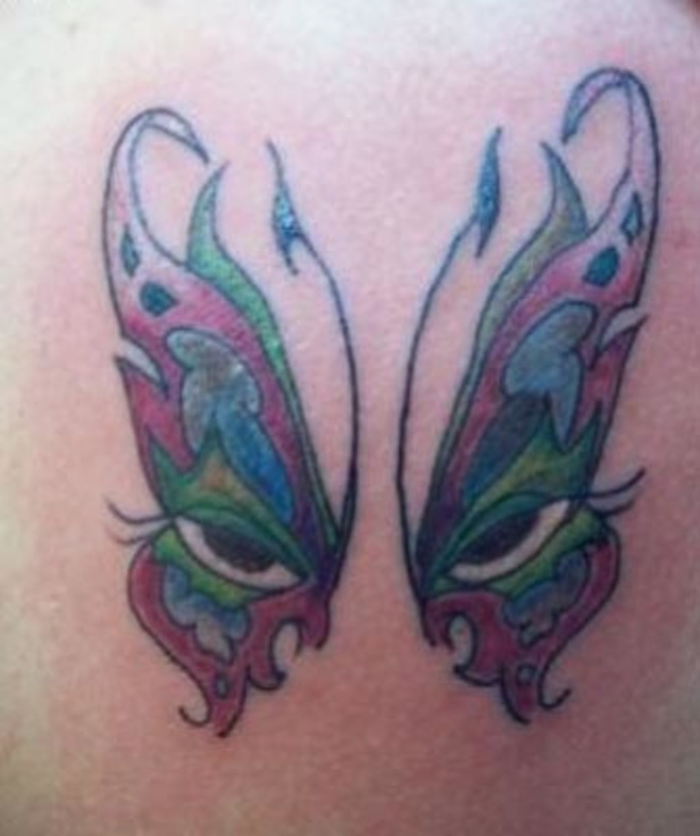 Meaning of Butterfly Tattoos & Butterfly Tattoo Pictures