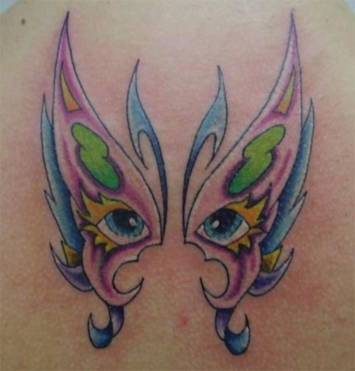 Meaning of butterfly tattoos butterfly tattoo pictures for Wv tattoos designs