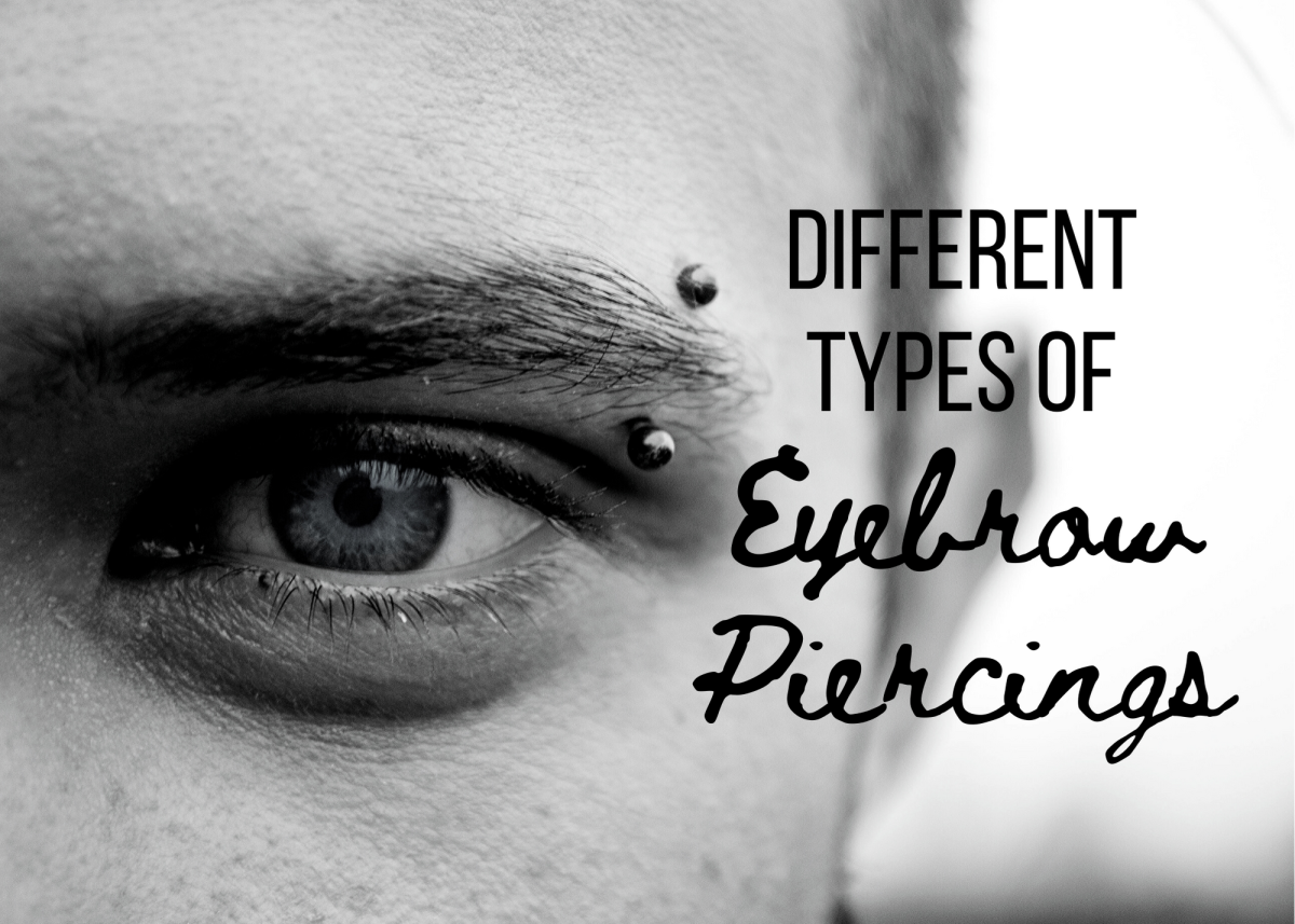 Illustrated Guide to Eyebrow Piercings