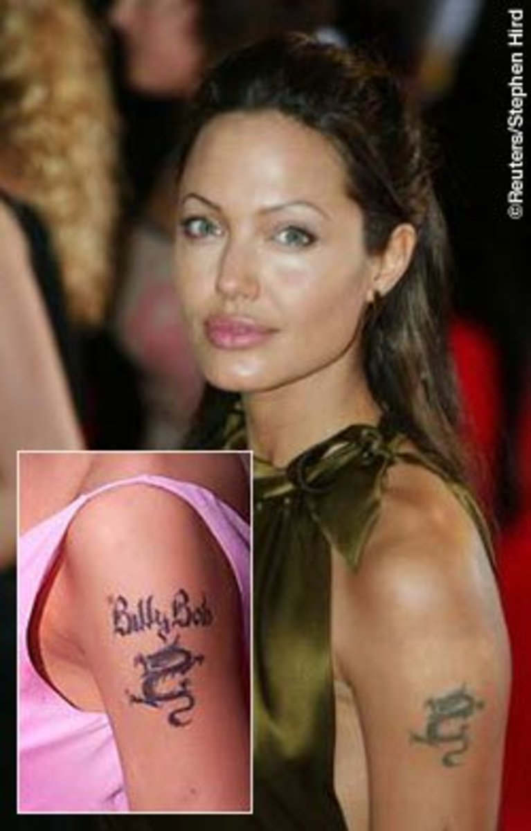 Angelina Jolie's Past and Present Tattoos and Their Meanings