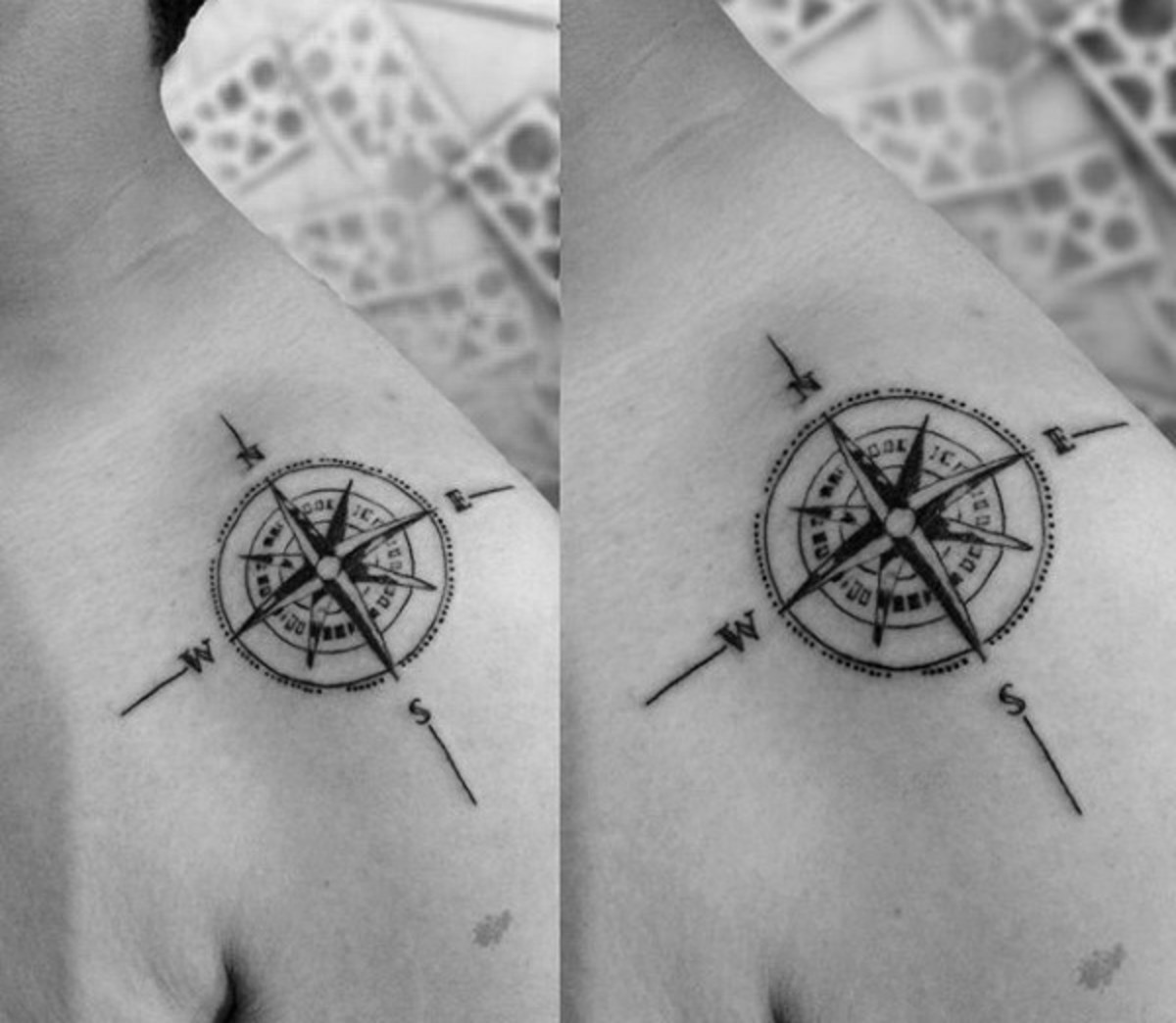b33be6eba Star Tattoo Meanings, Ideas, and Pictures | TatRing
