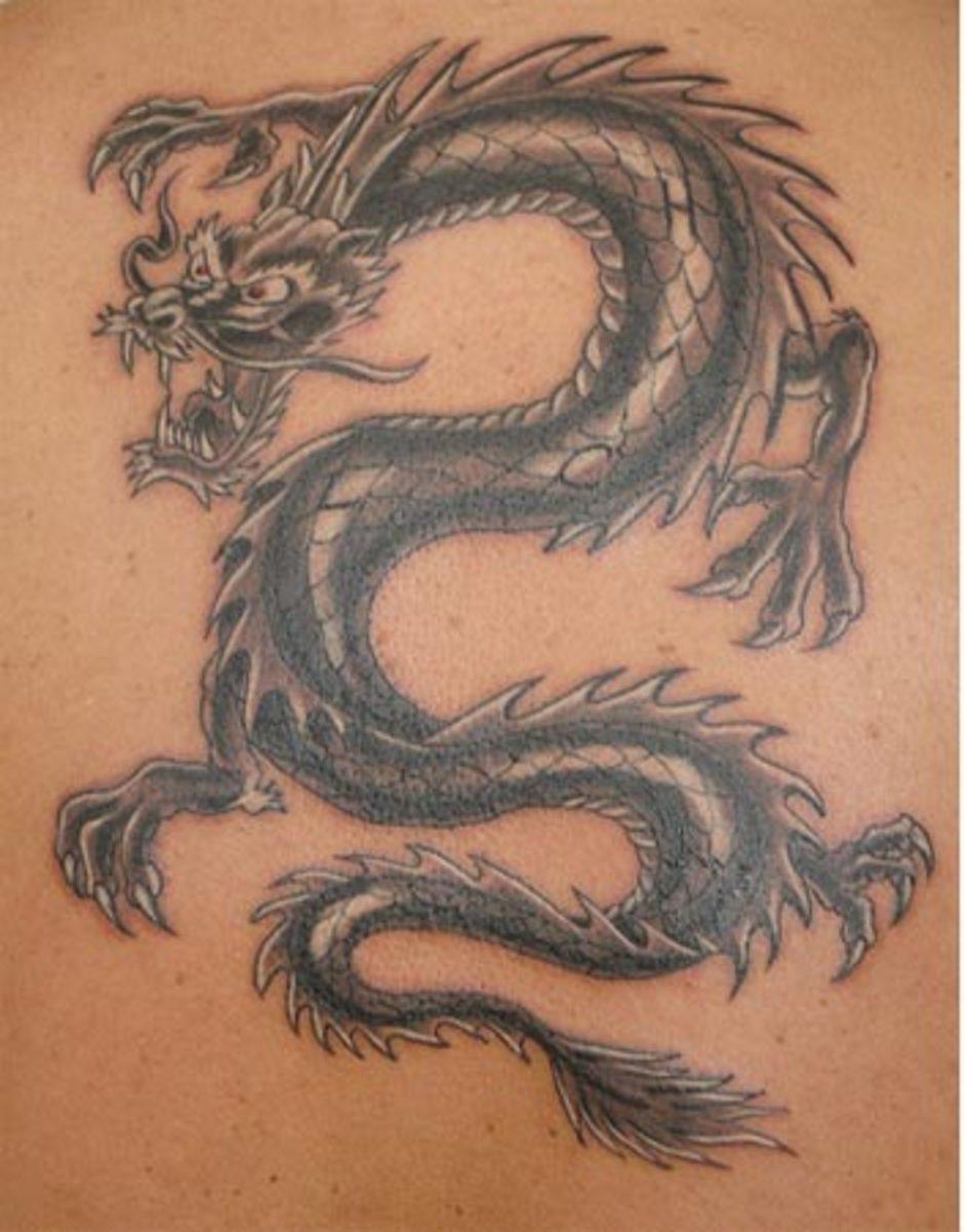 Flick Images: Vampire Black Cat: Dragon Tattoo