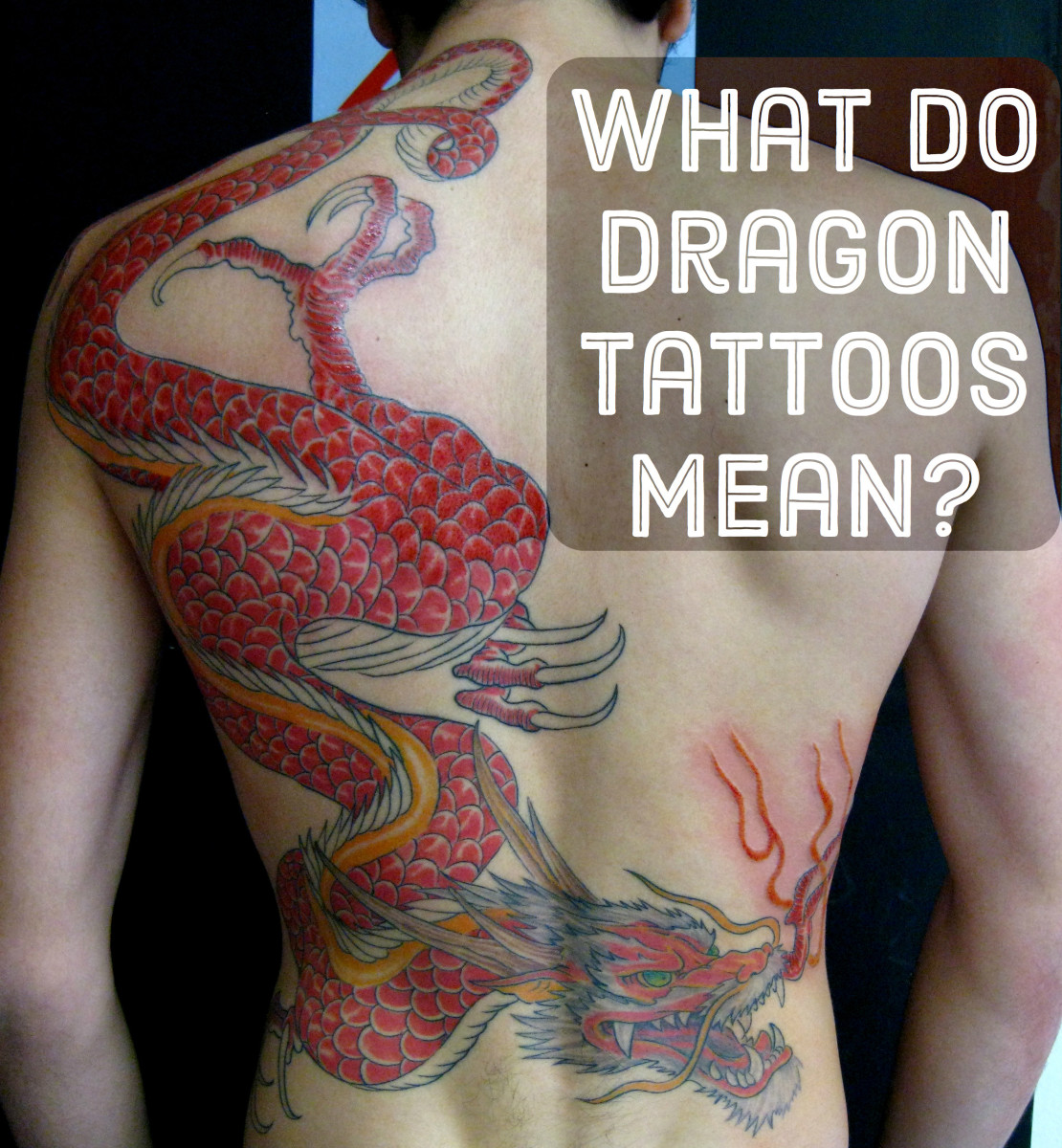 Dragon Tattoo Photos and What They Mean