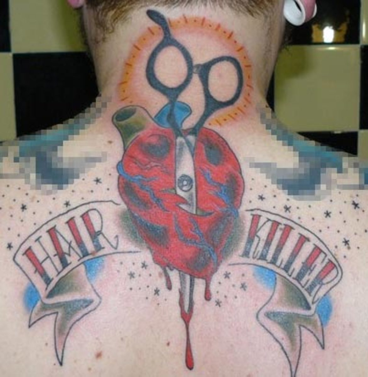 bleeding heart tattoo. Pictures of Heart Tattoos