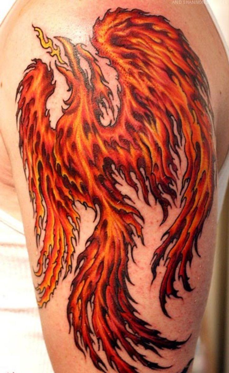 Картинки татуировки phoenix татуировки
