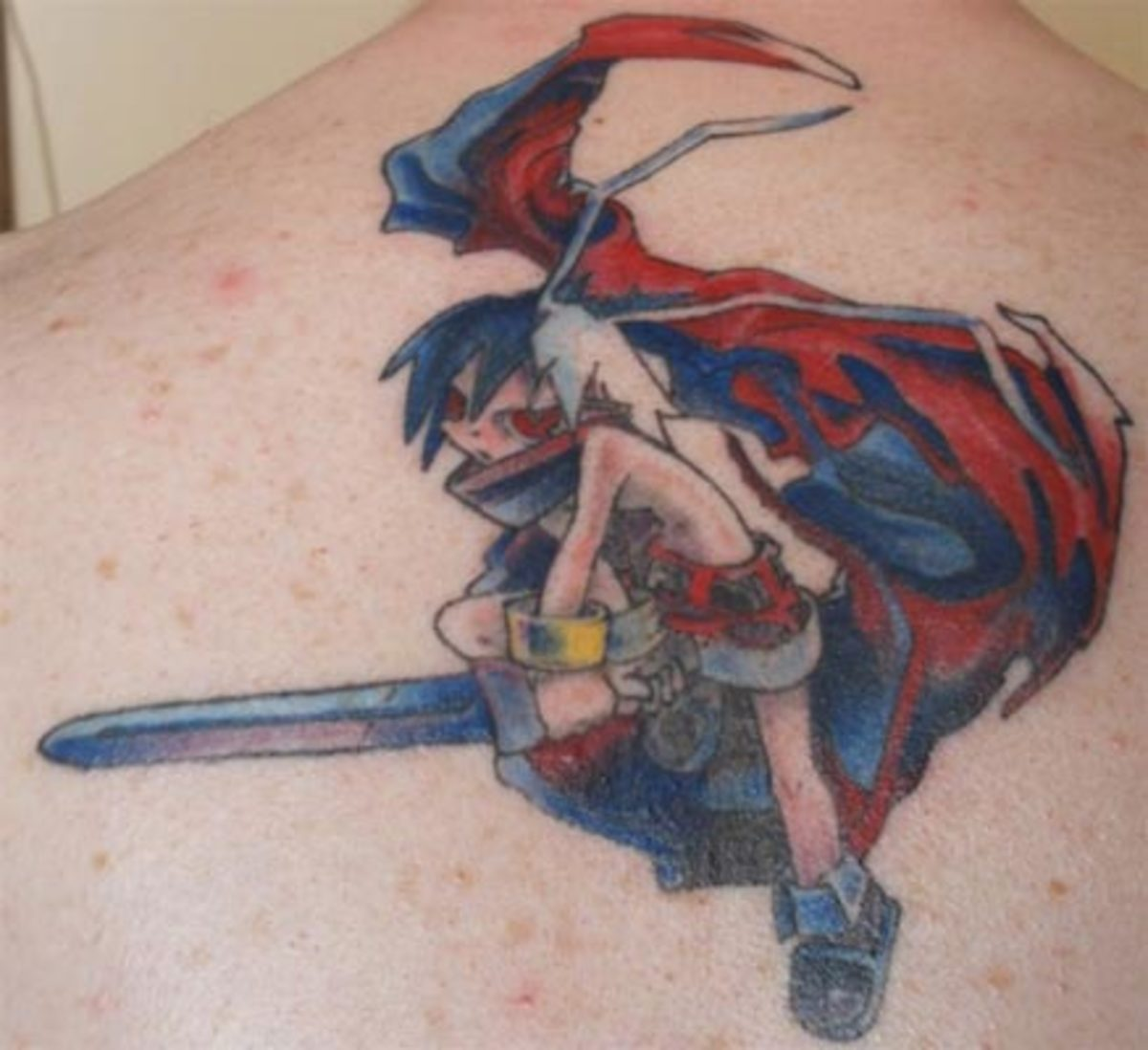 "Laharl- Disgaea: Hour of Darkness.(""Ink"" Floyd, Pins and Needles, Biddeford, MN)"