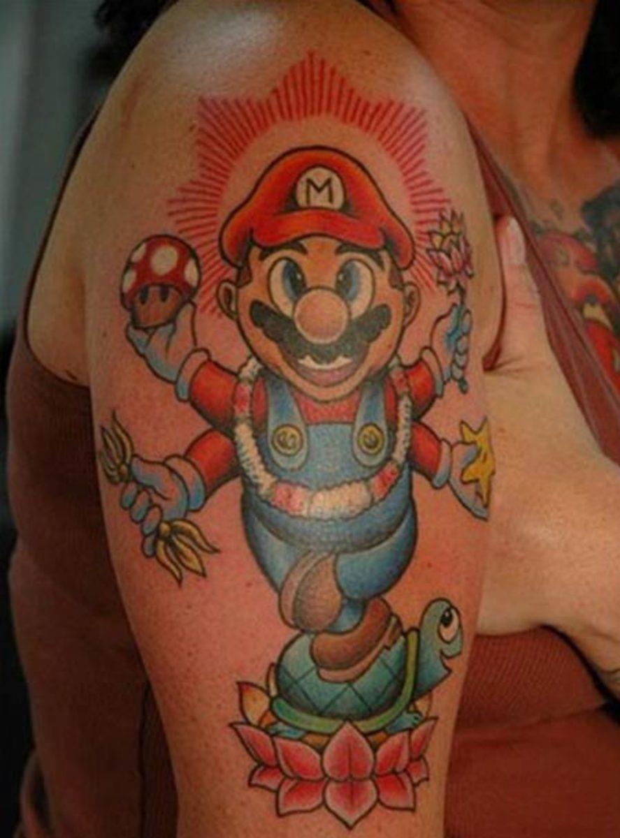 Video Game Tattoos - Hylian Tramp Stamp - UGO.com