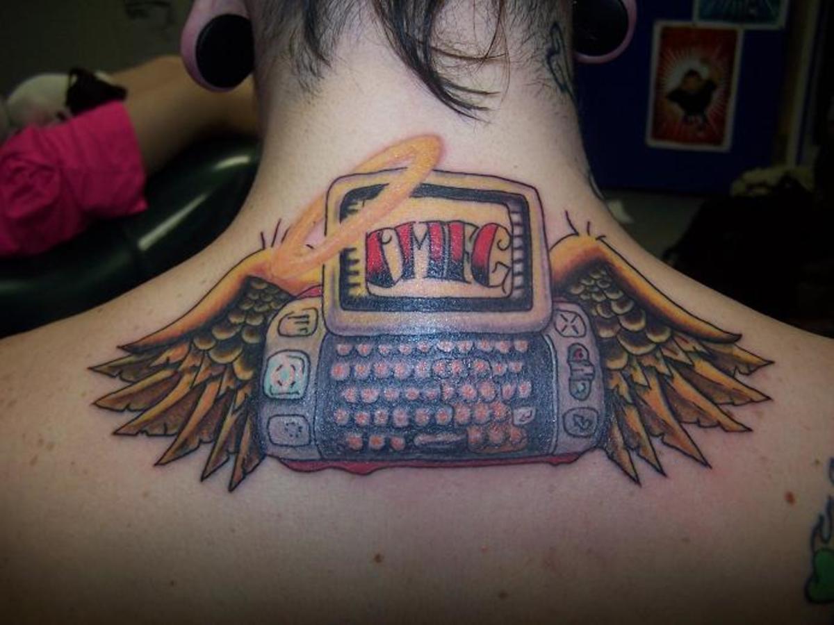 30 of the best geek tattoos tatring for Nerd tattoo designs