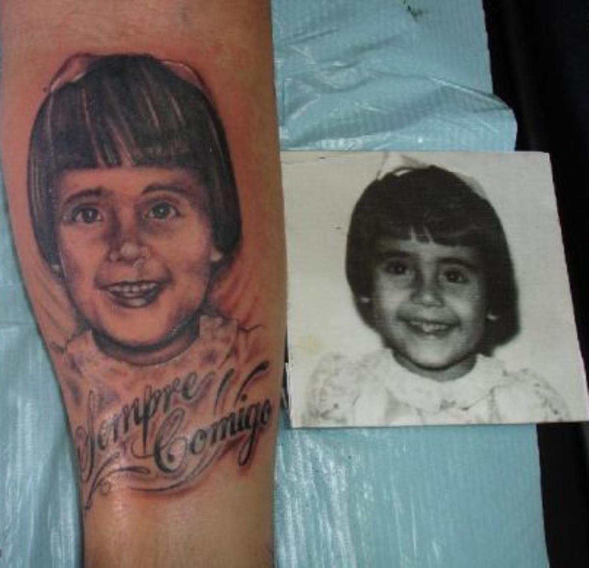 In Loving Memory Memorial Rip Tattoos Tatring