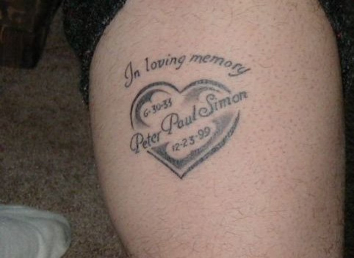 in loving memory memorial r i p tattoos tatring. Black Bedroom Furniture Sets. Home Design Ideas