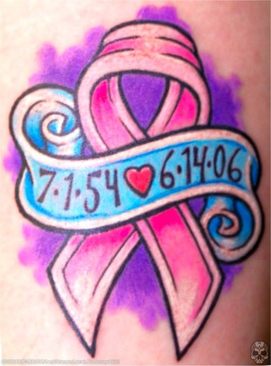 tattoo ideas breast cancer pink awareness ribbons tatring. Black Bedroom Furniture Sets. Home Design Ideas