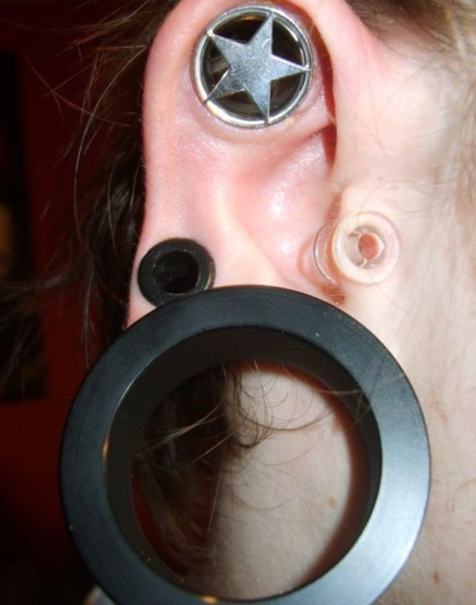 How To Stretch Your Ear Piercing To A Larger Gauge Tatring