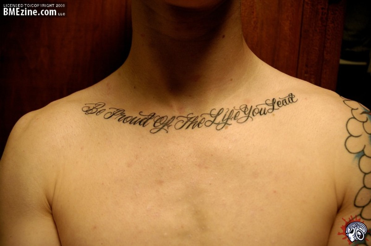 tattoos with quotes on life. Tattoo Ideas: Quotes on Life