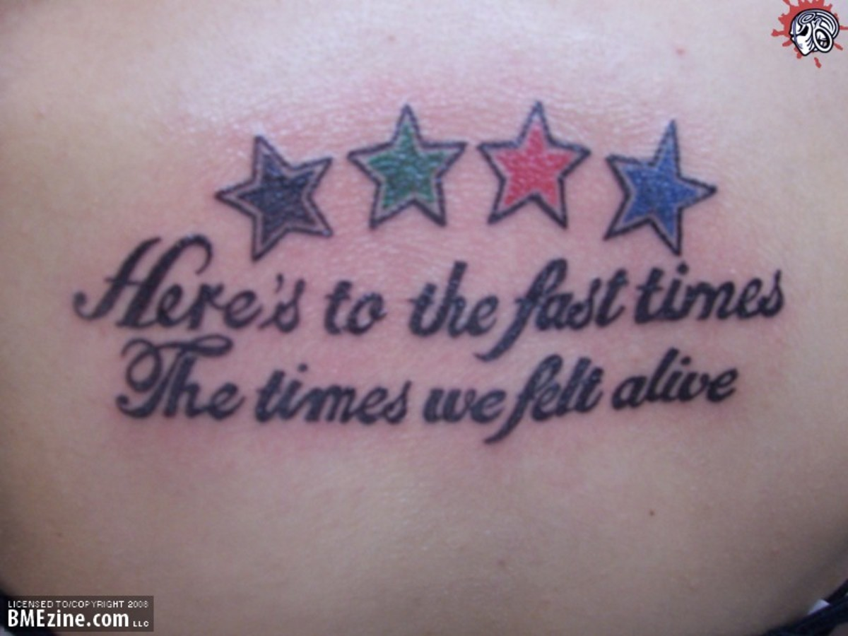 Tattoo Ideas Quotes On Life Tatring